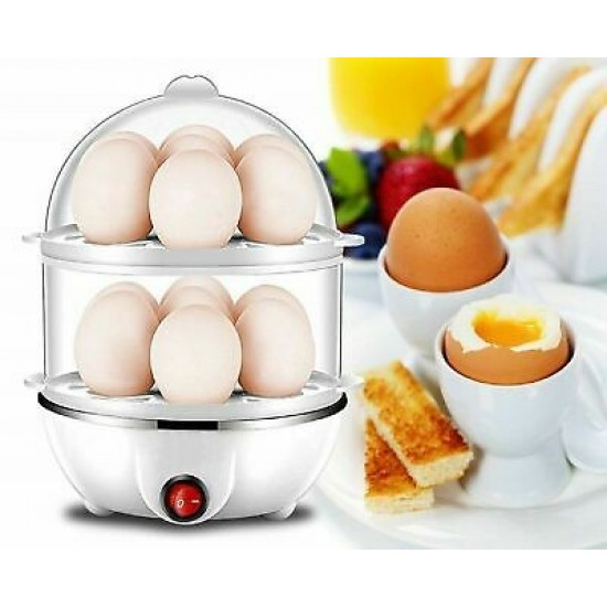 Яйцеварка за варене на яйца на пара My Dream Egg Cooker-на два етажа